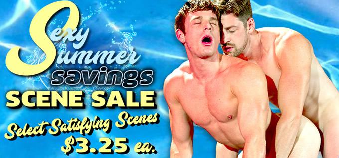 Sexy Summer Savings Scene Sale