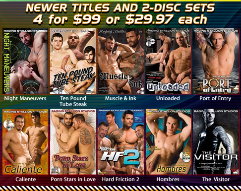 Newer Titles and 2-Disc Sets | 4 for $99 or $29.97 each