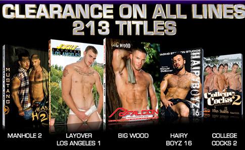 Clearance on All Lines - 213 Titles
