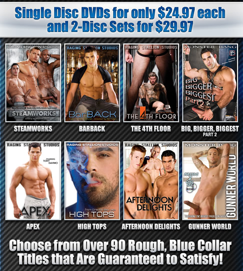 Single Disc DVDs for only $24.97 each and 2-Disc Sets for $29.97