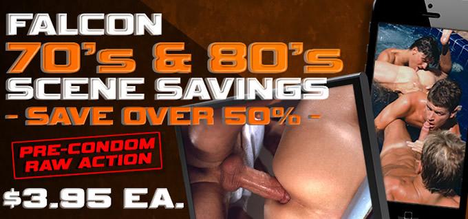 Falcon 70's & 80's Scene Savings - Save over 50% - $3.95 each