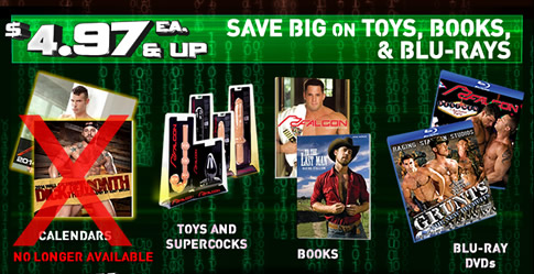 Save BIG on toys, books & Blu-Rays