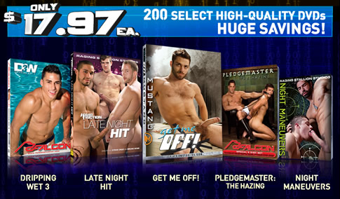 200 Select high-quality DVDs huge savings!