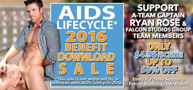 AIDS Lifecycle 2016 Benefit Download Sale